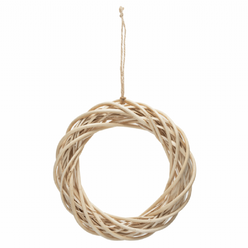 Wreath Base Light Willow 25.5cm 10in
